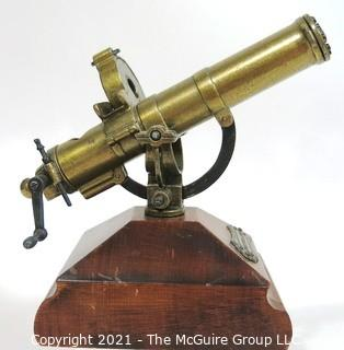 Brass Scale Model of Gatling Gun with Removable Magazines, Hartford Conn.