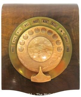 "Vintage 1930's Philco Rotary Dial Radio ""Magic Mystery Control"" from New York Hotel.  Allowed hotel guests to play music in their hotel rooms through the main receiver located in lobby. Measures approximately 5 1/2"" X 7"" X 9"""