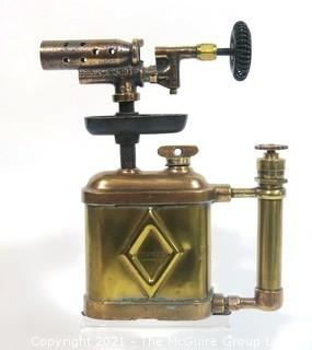 Vintage Brass Otto Bernz Compact Blow Torch