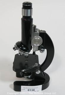 Monocular microscope; multiple powers
