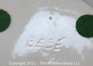Art Deco Porcelain Trinket Box; marked BEBE