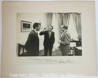 Ephemera: Political: Historical: Letter of appreciation to Clifford Evans by President Richard Nixon