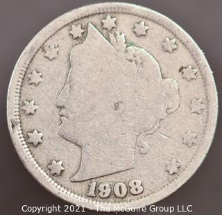 1908 V Nickel