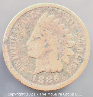 1886 Indian Head Cent