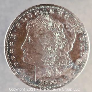 "1880 ""S"" U.S. Silver Dollar"