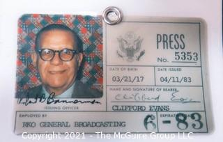 "Nixon and Reagan Era Political Memorabilia including glassware and ""FMBNH"" (For McGovern Before New Hampshire) Pin"