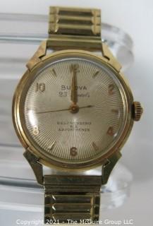 Vintage Men's Bulova 23 Jewels Self-winding Wristwatch Six Adjustments (untested)