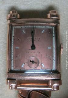 Vintage Men's Gruen Veri-Thin Precision Watch Art Deco; 14k Case (untested)
