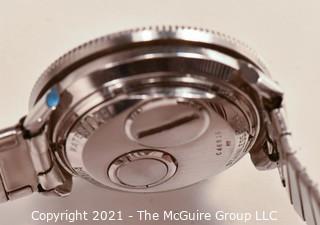 "Bulova 1967 (M7) ""Astronaut"" Accutron tuning fork Men's Wristwatch, new battery (387) installed, runs true, no noticeable +/- after 60:00 stopwatch test. Vintage BMC SS band."