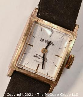 "German Shock-Proof 17 Jewel ""La Clocke"" Automatic Men's Wristwatch (untested)"