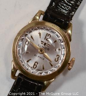 "Italian Made ""21 Prix"" LINGS Automatic Men's Wristwatch (untested)"