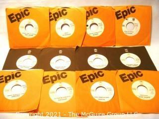 Vinyl Record: 45rpm: Promo: Epic lot (20)