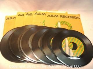 Vinyl Record: 45rpm: A&M lot (11) Forget me not