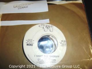 Vinyl Record: 45rpm: Promo: Various (8) Clapton