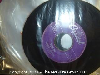 Vinyl Record: 45rpm: Various (10) 50's pop 16 tons