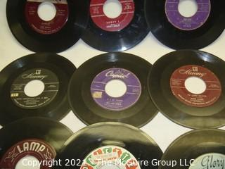 Vinyl Record: 45rpm: Various (9) 50's pop Everly Bros