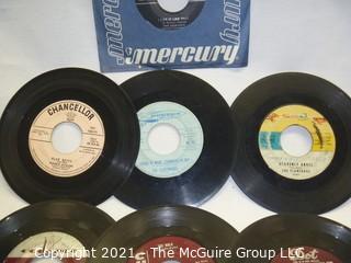 Vinyl Record: 45rpm: Various (10) 50's pop Crew-cuts