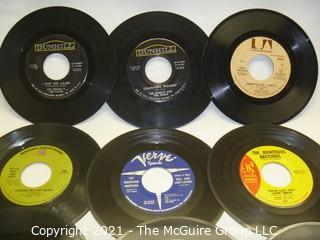 Vinyl Record: 45rpm: Various (9) 60's pop  various artists - Righteous Bros