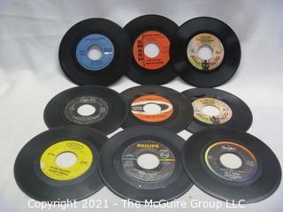 Vinyl Record: 45rpm: Various (9) 60's pop  various artists - Swinging Medallions