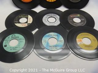 Vinyl Record: 45rpm: Various (9) 60's pop  various artists - Tommy James