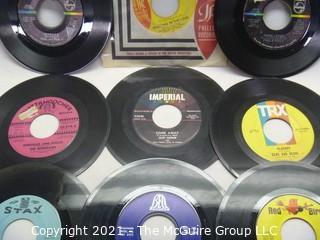 Vinyl Record: 45rpm: Various (9) 60's pop Female Artists -  Ronettes