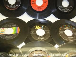 Vinyl Record: 45rpm: Various (10) 60's pop/rock Jan & Dean