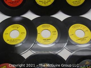Vinyl Record: 45rpm: Various (9) 60's pop  various artists -  Dave Clark Five