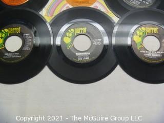 Vinyl Record: 45rpm: Various (9) 60's pop/rock   Joe Cocker