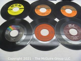 Vinyl Record: 45rpm: Various (9) 60's pop Female Artists - Rita Cooledge