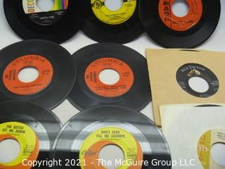 Vinyl Record: 45rpm: Various (9) 60's pop  various artists -  Country