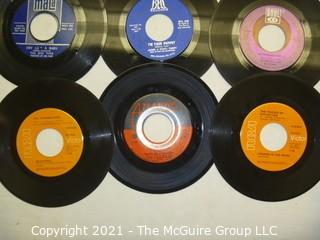 Vinyl Record: 45rpm: Various (9) 60's pop/rock  Boxtops