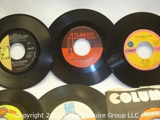 Vinyl Record: 45rpm: Various (7) 60's pop/rock   Drifters