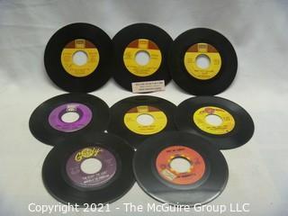 Vinyl Record: 45rpm: Various (8) 60's pop/rock  Soul Shorty Long ...Judge