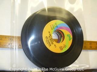 Vinyl Record: 45rpm: Various (9) 60's pop  various artists - Neal Diamond