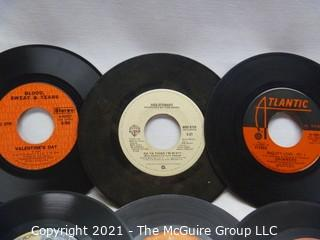 Vinyl Record: 45rpm: Various (9) 70's pop  various artists -  Rod Stewart