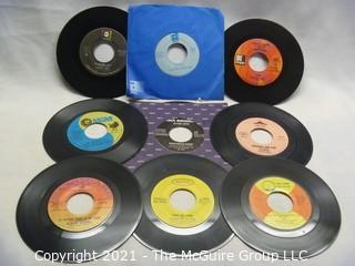 Vinyl Record: 45rpm: Various (9) 70's pop  various artists - 96 Tears