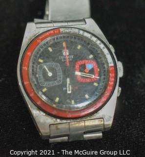 Watch: Vintage Tissot by Omega PR 516 Chronograph Lemania (untested)
