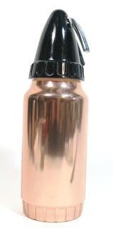Vintage Mid Century Modern (MCM)  Copper Enamel Sparklet Soda Siphon.