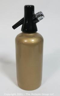 Soda King Siphon Bottle Designed by Norman Bel Geddes for Walter Kidde Sales Co. Inc., Bloomfield, NJ