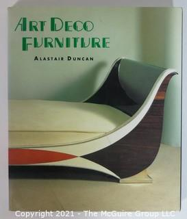"1984 Edition of ""Art Deco Furniture. The French designers"" by Alistair Duncan."