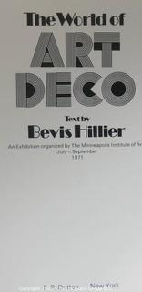 """Book: """"The World of Art Deco"""" by Bevis Hillier"""
