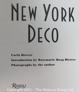"""Book: """"New York Deco"""" by Carla Breeze, published by Rizzoli"""