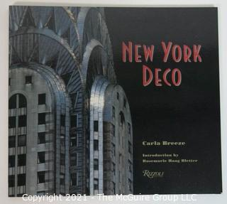 "Book: ""New York Deco"" by Carla Breeze, published by Rizzoli"
