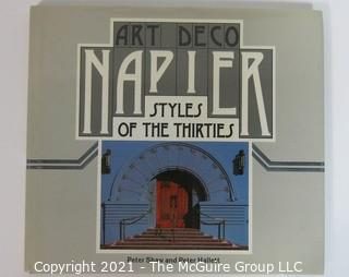 "Book: ""Napier Art Deco: Styles of the 1930's"" by Peter Shaw and Peter Hallett"