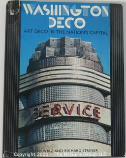 "Book: ""Washington Deco: Art Deco in the Nation's Capital"" published by the Smithsonian"