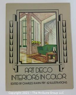 "Book: ""Art Deco Interiors in Color"", edited by Charles Rahn Fry"