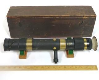 Keuffel and Esser Co. Surveying Instrument with Original Wooden Box