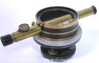 Vintage Brass Bostrom Brady Surveying Transit Level.