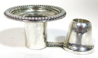 Sterling Silver Candle Holder, 96g