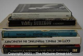 "Collection of Books including ""Painting and Sculpture in Israel"""